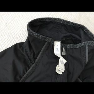 Lululemon Running Jacket-Black-Size 4